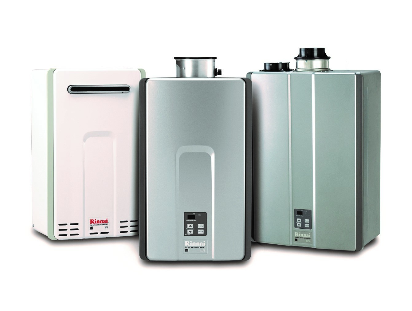 Water heaters tankless water square electric Instant water heater