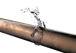 pipe-copper-leaking